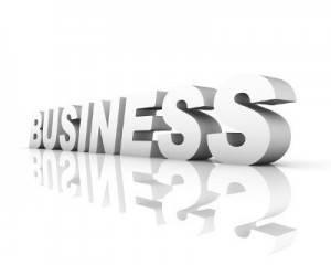 Texto Business en 3D
