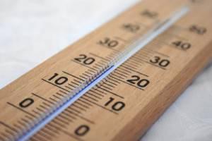 Termometro analógico de madera