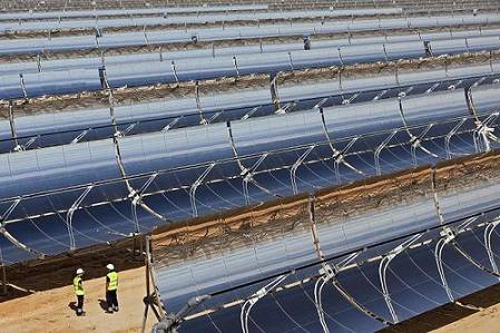 Campo paneles solares