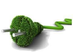 Enchufe verde