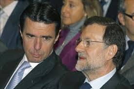 Jose Manuel Soria y Mariano Rajoy