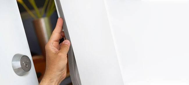 Intalar burletes de aislamiento en puertas y ventanas - efimarket