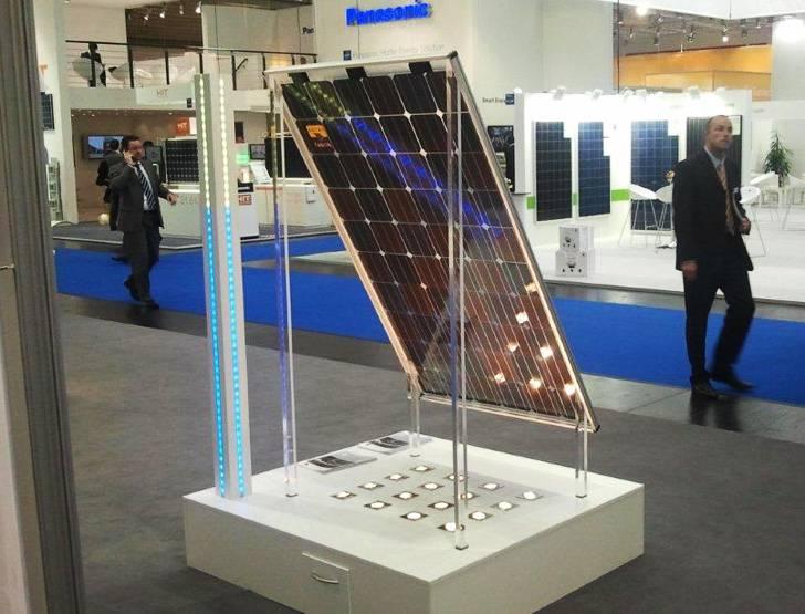 celula solar de doble cara - efimarket