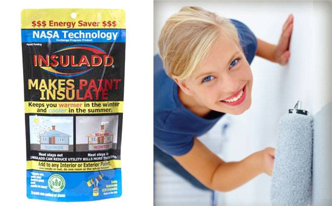 Insuladd aditivo para pintura aislamiento termico