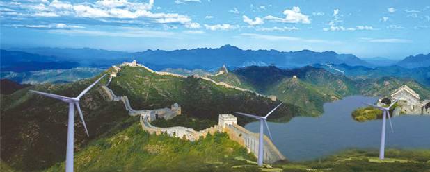 China, la primera potencia de energía eólica del mundo
