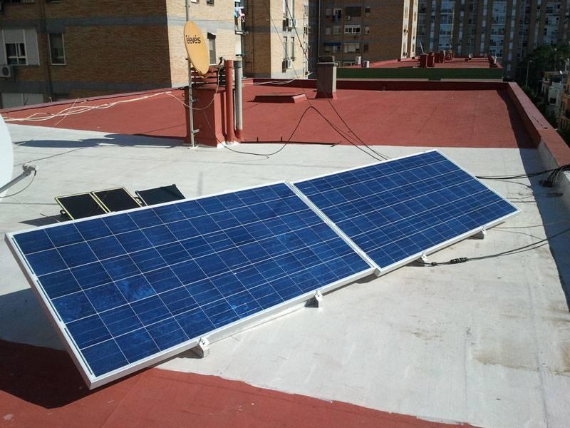 Instalación de 500W para autoconsumo en Sevilla