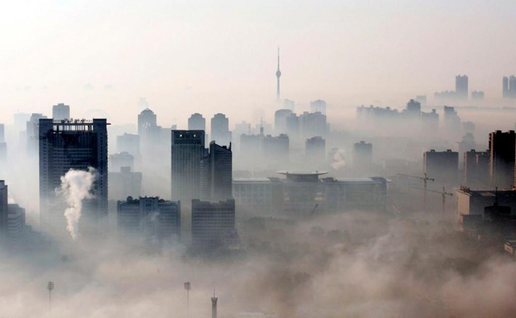 polucion en china