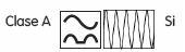 símbolos que indican que el diferencial es superinmunizado