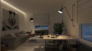 la zona de lectura y el comedor necesitan iluminacin puntal para completar por lo que conviene optar por la iluminacin decorativa