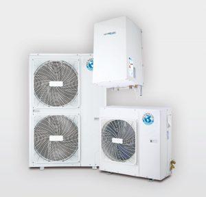 equipo de climatización aerotermia