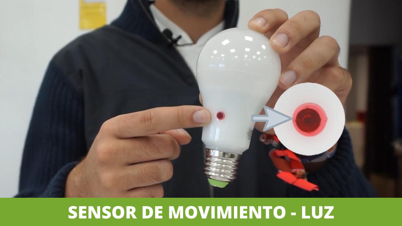 Luces son sensor de movimiento