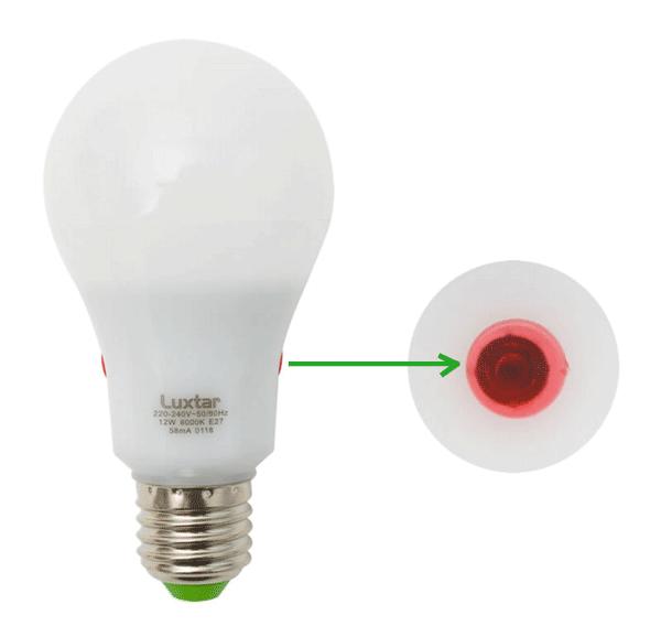 bombilla con sensor crepuscular