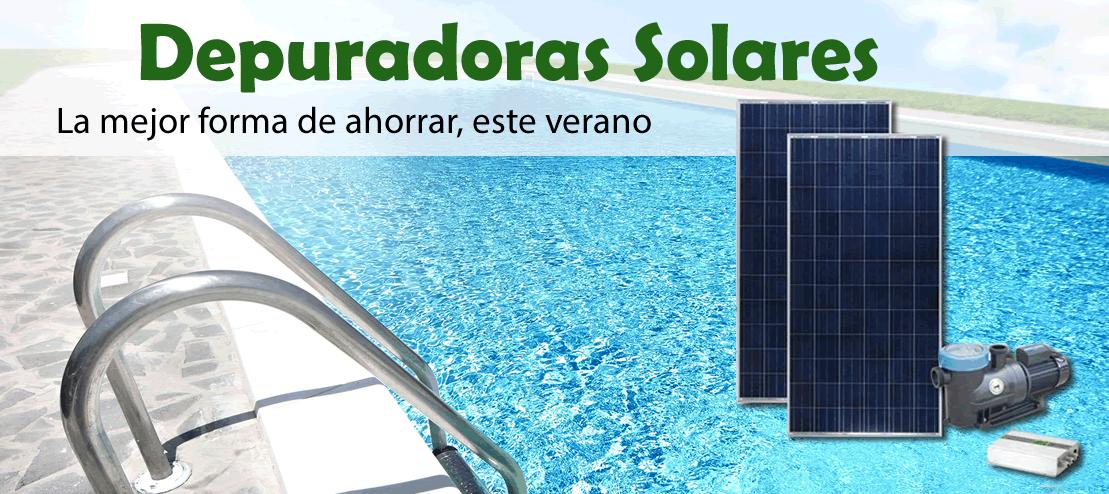depuradora solar