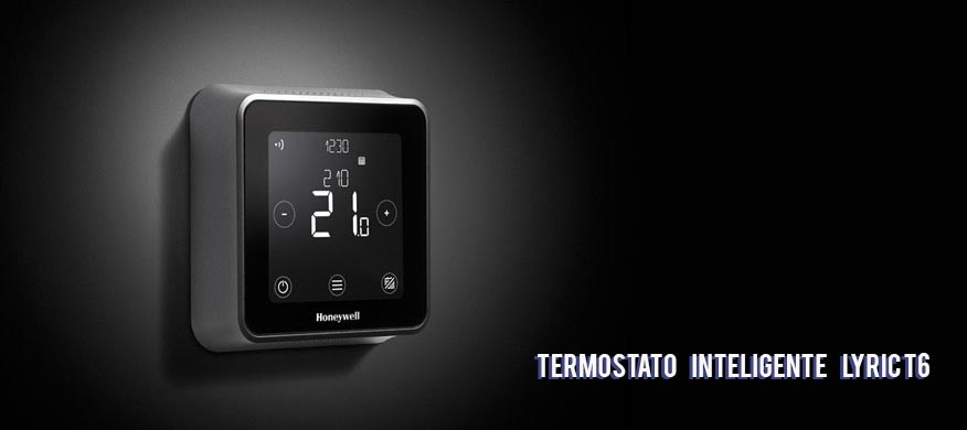 Termostato inteligente Honeywell T6
