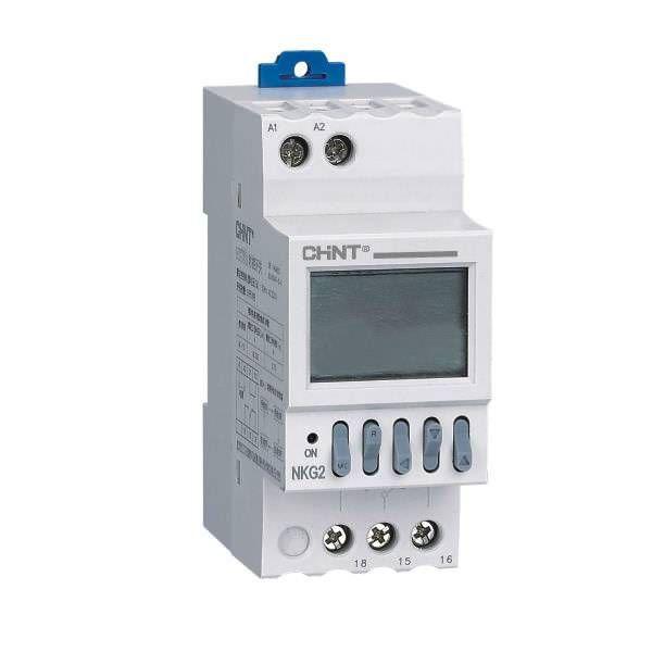 Temporizador Digital Carril DIN CHINT NKG2