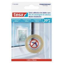 Cinta adhesiva de doble cara para vidrio TESA