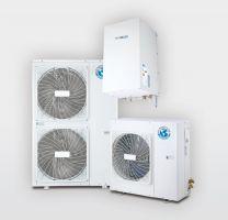 Aerotermia bomba de calor: Agua, frío y calefacción BIBLOC AEROTHERM V17 12kW