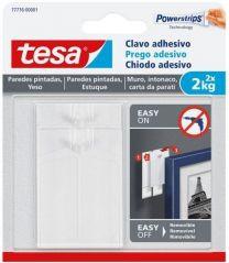 Clavo adhesivo para paredes pintadas y yeso (2 kg)