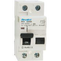 Interruptor diferencial Revalco superinmunizado 2 polos, 300 miliamperios, 25 Amperios
