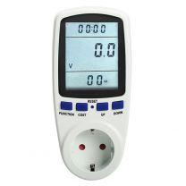 Energy Monitoring Socket. Contador instantáneo de electricidad.