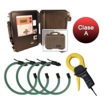Kit QNA-P RS Circutor, equipo de registo de calidad de suministro portátil, clase A