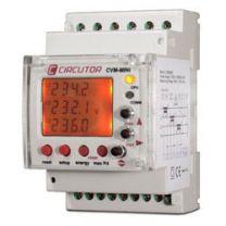 Analizador de redes trifásicas 230 V para carril DIN circutor