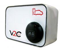 New V2C Socket Punto de Recarga para Vehículos Eléctricos
