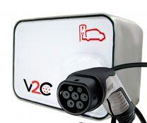 New V2C Tipo 2 Punto de Recarga para Vehículos Eléctricos
