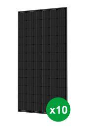 Placa solar 10ud. 390W. Policristalina. (992 x 1960 x 35mm)