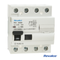 Interruptor diferencial Revalco 4P 100 A 300mA (Clase A)