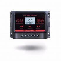Regulador solar 30A 12/24V controlador carga solar PWM